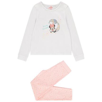 Βαμβακερή πιτζάμα με στάμπα Minnie σειρήνα της Disney