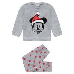 Πιτζάμα φλις Disney με κεντημένο τον Μίκυ