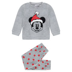 aa6db3383f2 Πιτζάμα φλις Disney με κεντημένο τον Μίκυ