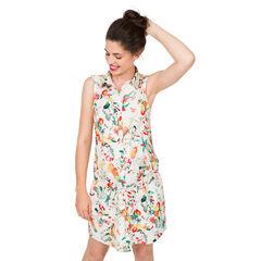 Φόρεμα εγκυμοσύνης με διάσπαρτο σχέδιο με φρούτα