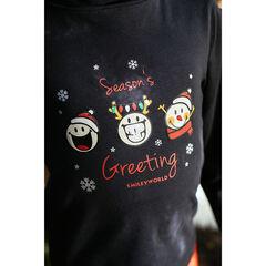 Sous-pull col roulé print Smiley esprit Noël , Orchestra