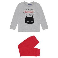 Δίχρωμη πιτζάμα ζέρσεϊ BATMAN