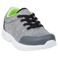 Αθλητικά παπούτσια από ζέρσεϊ, με κορδόνια