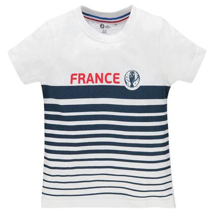 Tee-shirt manches courtes rayé EURO 2016™ France