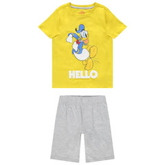 Ensemble t-shirt et bermuda motif Donald Disney , Orchestra