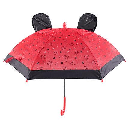 Ομπρέλα με το περίγραμμα του Μίκυ και ανάγλυφα αυτάκια