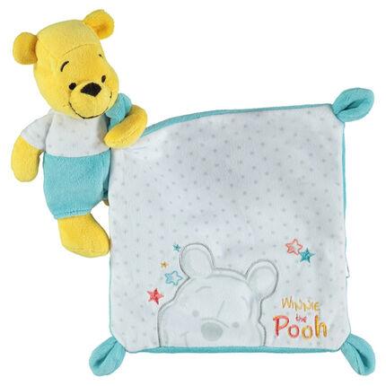 Λούτρινο αρκουδάκι Winnie The Pooh με υπνόσακο