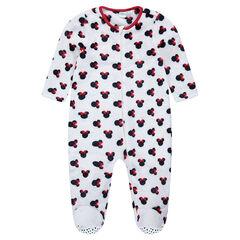 Βελουτέ πιτζάμα-υπνόσακος με τη Minnie της Disney, από 12 μηνών έως 5 ετών