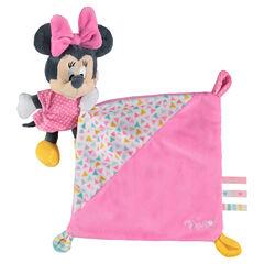 Πανάκι παρηγοριάς της Disney με ραμμένο λούτρινο κουκλάκι με τη Minnie