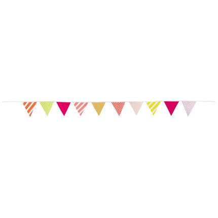 Γιρλάντα γενεθλίων με πολύχρωμα τριγωνάκια