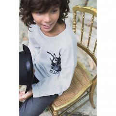 Παιδικά - Μακρυμάνικη μπλούζα με τυπωμένο μουσικό θέμα