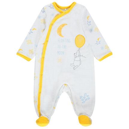 Βελουτέ φορμάκι ύπνου με εμπριμέ μοτίβο Γουίνι το αρκουδάκι της Disney
