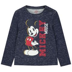 Μακρυμάνικη μελανζέ μπλούζα με στάμπα Μίκυ της Disney