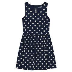 Παιδικά - Αμάνικο φόρεμα με πουά