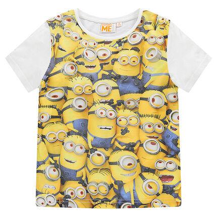 Κοντομάνικη μπλούζα με στάμπα Minions - Orchestra GR a8ac0a85b06