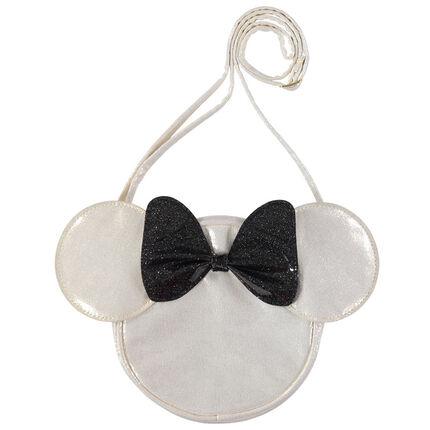 Τσάντα ώμου με τη Minnie της Disney και φιόγκο με παγιέτες