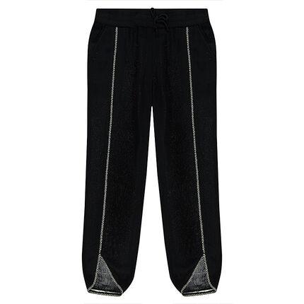 Παιδικά - Ριχτό παντελόνι με φαντεζί μοτίβο