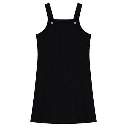 Φόρεμα σε πλέξη με ανάφλυφη υφή και ρυθμιζόμενες τιράντες!