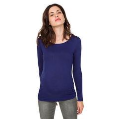 Μακρυμάνικη μπλούζα εγκυμοσύνης με κρουαζέ πλάτη