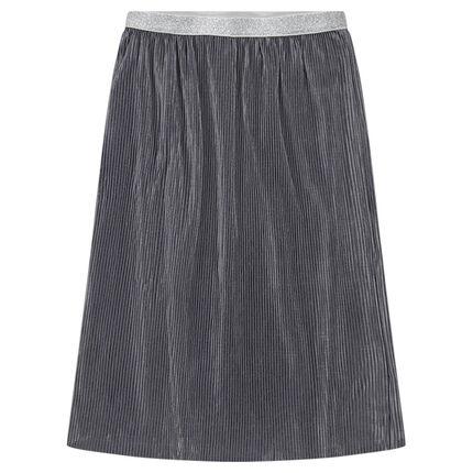 Παιδικά - Μίντι πλισέ φούστα με γκλίτερ στη μέση