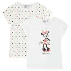 Σετ 2 μπλουζάκια (φανελάκια) με την Μίνι της Disney