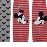 Σετ με 2 χοντρά καλσόν με μοτίβο Minnie και Mickey της ©Disney