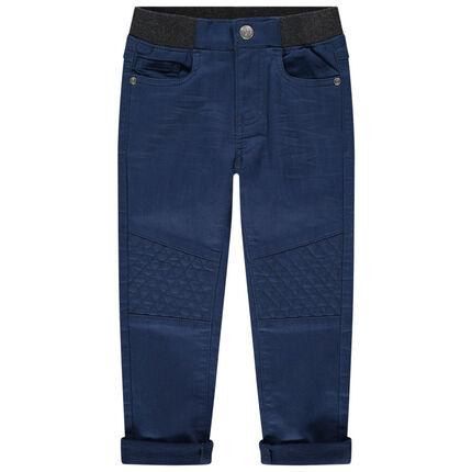 Υφασμάτινο παντελόνι με λάστιχο στη μέση