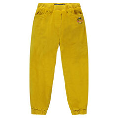 Βελούδινο διπλό θερμικό παντελόνι