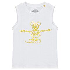 Αμάνικο μπλουζάκι από ζέρσεϊ με στάμπα Mickey της ©Disney