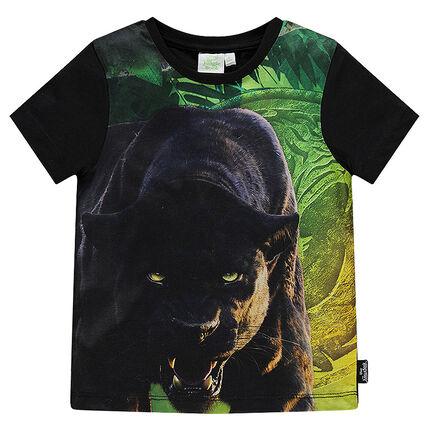 Tee-shirt manches courtes Disney print Bagherra