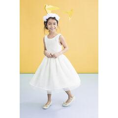 Επίσημο φόρεμα με δαντέλα και τούλι