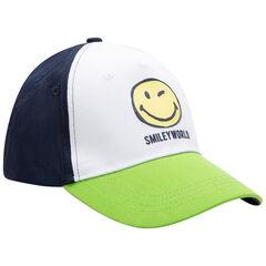 Casquette tricolore Smiley