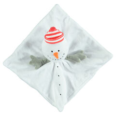Πανάκι παρηγοριάς χιονάνθρωπος με βελουτέ υφή