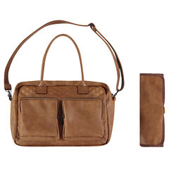 Τσάντα αλλαξιέρα από συνθετικό δέρμα με ενσωματωμένο χαλάκι