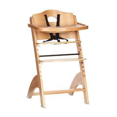 Ψηλή καρέκλα Zeta με τάβλα - Φυσικό χρώμα
