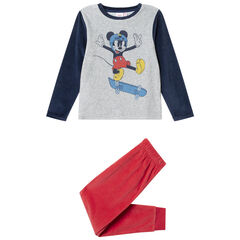 Pyjama en velours print Mickey Disney