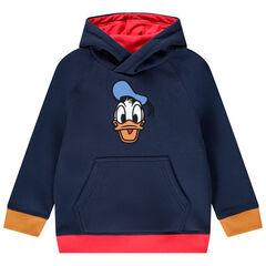 Sweat à capuche en molleton pour enfant garçon à motif Donald Disney , Orchestra