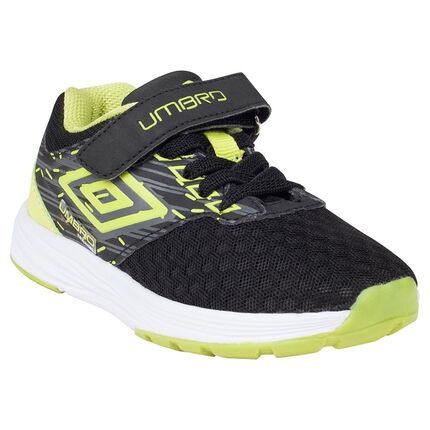 Αθλητικά παπούτσια UMBRO με ελαστικά κορδόνια και τυπωμένο λογότυπο