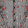 Παιδικά - Φόρεμα με φλοράλ μοτίβο και μικρά καρό