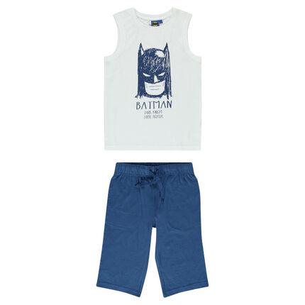 Παιδικά - Ζέρσεϊ πιτζάμα με τύπωμα BATMAN