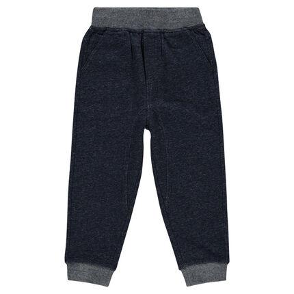 Παιδικά - Φανελένιο παντελόνι με τσέπες