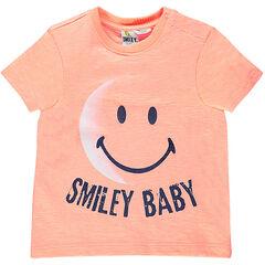 Κοντομάνικη μπλούζα με στάμπα ©Smiley