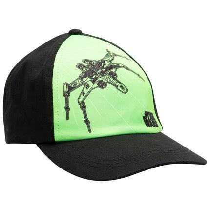Καπέλο από τουίλ Star Wars πράσινο/μαύρο