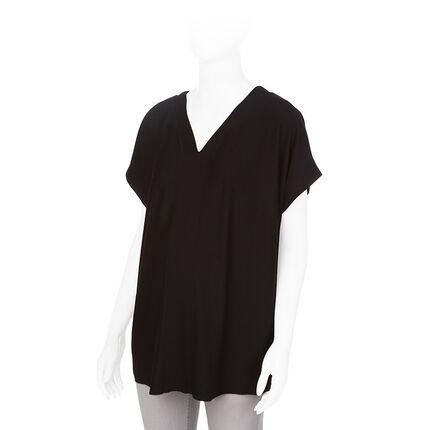 Κοντομάνικη μπλούζα εγκυμοσύνης με φόρμα κιμονό