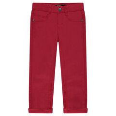 Παιδικά - Μονόχρωμο παντελόνι από ύφασμα τουίλ