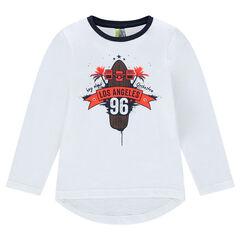 Μακρυμάνικη μπλούζα με στάμπα «Los Angeles»
