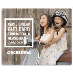 Προσφέρετε τη δωροκάρτα Orchestra duoFilles