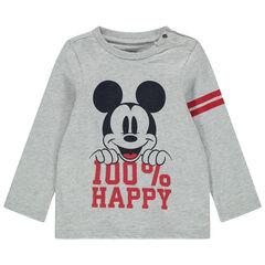 T-shirt manches longues print Mickey Disney , Orchestra