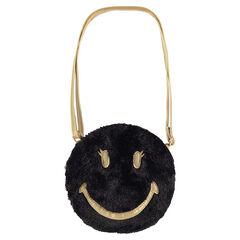 Τσάντα ώμου ©Smiley από συνθετική γούνα