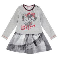 Φόρεμα 2 σε 1 με στάμπα Mickey & Minnie της Disney